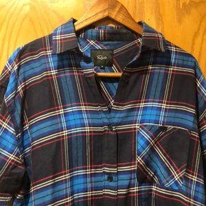 Soft Rails plaid flannel shirt